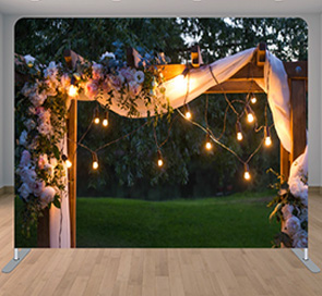 Wedding Photo Booth Backdrop